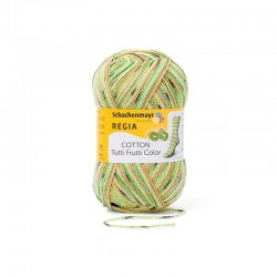 REGIA Cotton Tutti Frutti Color 02418 Kiwi