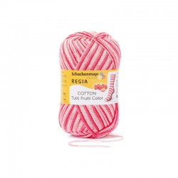 REGIA Cotton Tutti Frutti Color 02420 Jordbær