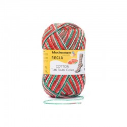 REGIA Cotton Tutti Frutti Color 02421 Vandmelon